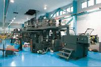 井上工場のA2輪転機